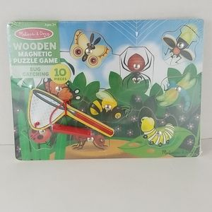 MELISSA & DOUG BUG CATCHING WOODEN PUZZLE GAME